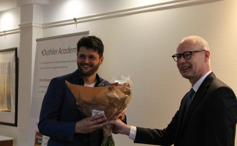 Gefeliciteerd Paul Schokker met het afronden van de Opleiding FG!